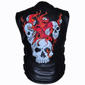 Reflective Updated Skull Vest