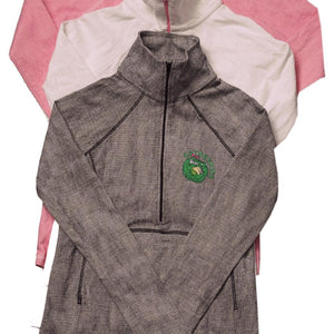 Ladies Thermal Zippered Shirt