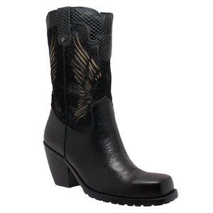 Ladies Western Riding Boot Bk