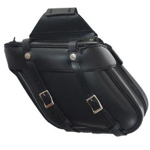 Angle Saddlebag with Zipper