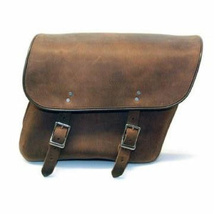 Distressed Brown Saddlebag