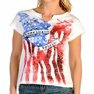 Ladies American Spirit Tee