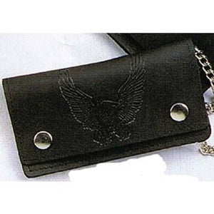 "Oil Tanned 6.5"" Biker Wallet"
