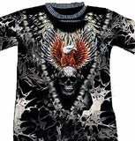 T-Shirt With Rivets Eagle