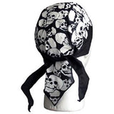 Small Skulls(White) Headwrap