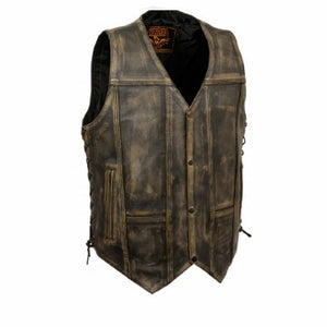 Men's 10 Pocket Vest Con/Weapo