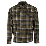 Black 9 Moto Shirt Black/Brown