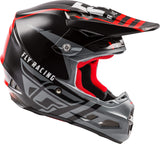 F2 CARBON GRANITE HELMET RED/BLACK/WHITE
