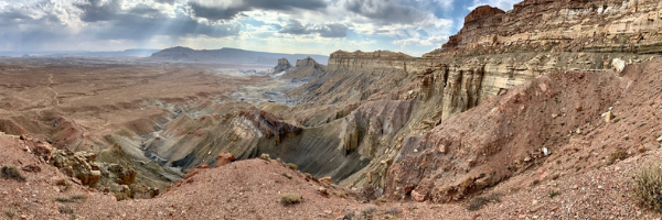 View of the southern end of Grand Staircase Escalante