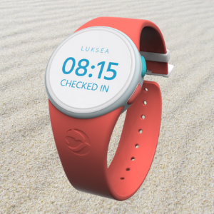 Luksea Wearable Device - Coral