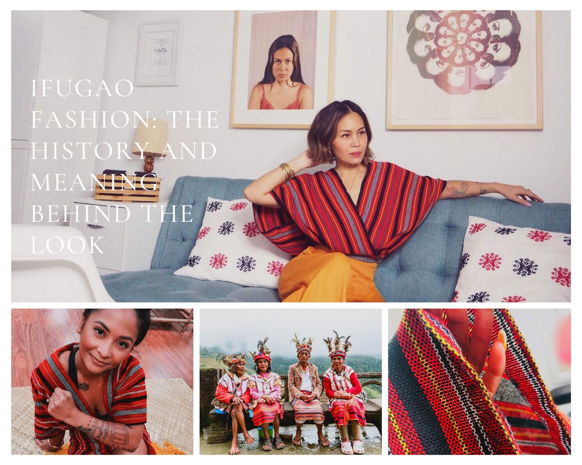 VINTA Ifugao Fashion - The History and Meaning Blog Post