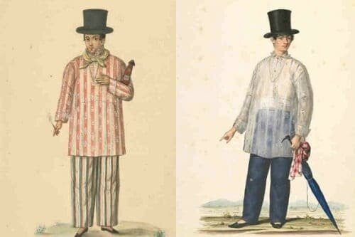 VINTA History of the Barong - 19th-century Filipino men