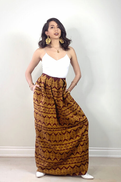 VINTA Womens Unisex Malong Skirt