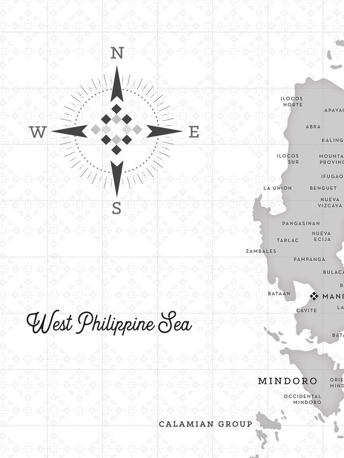 VINTA Map of the Philippines - Haze (1st Edition)