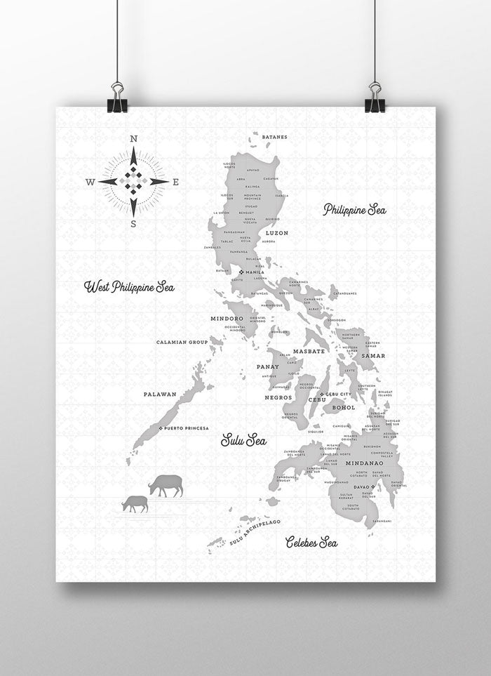 Map of the Philippines - Haze (1st Edition)