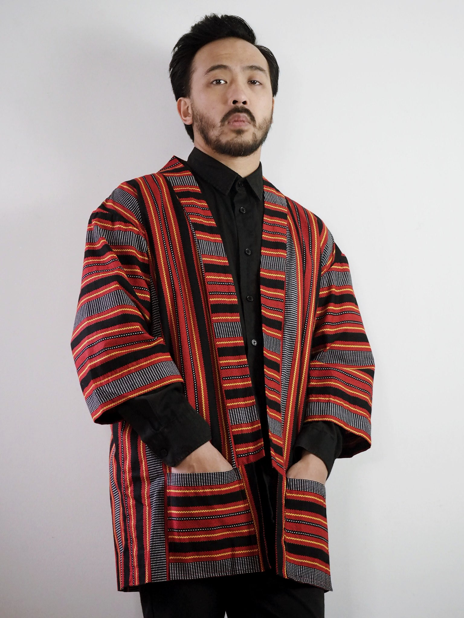 VINTA Unisex Printed Ifugao Jacket on Darrel