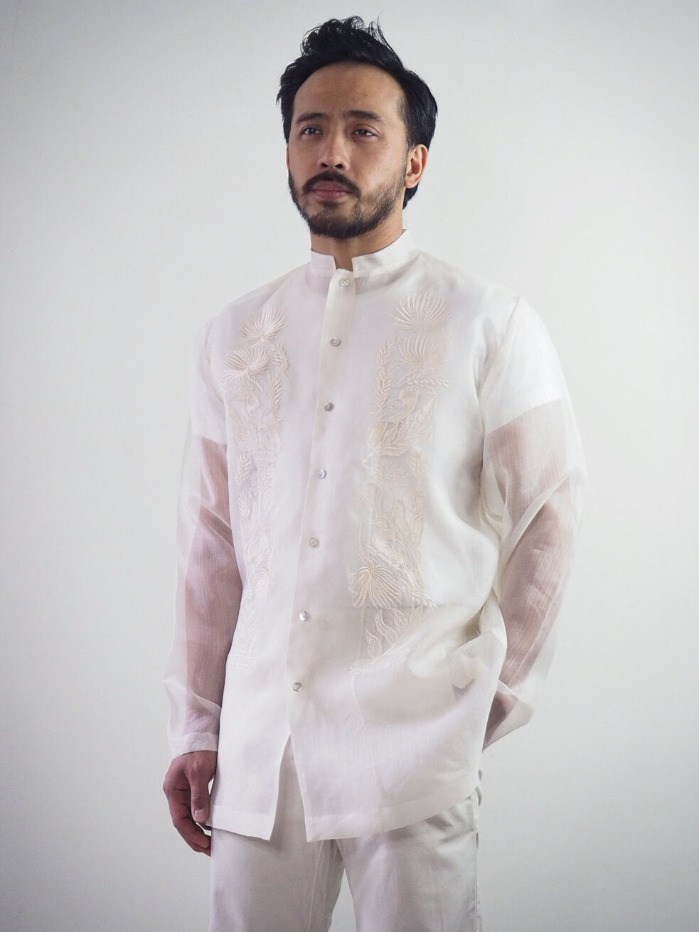 VINTA New Chinoy Barong Front View