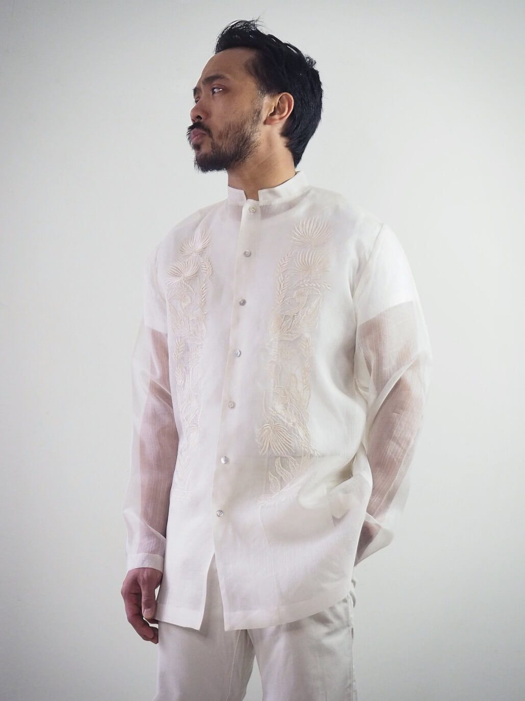 VINTA New Chinoy Barong Front View 3