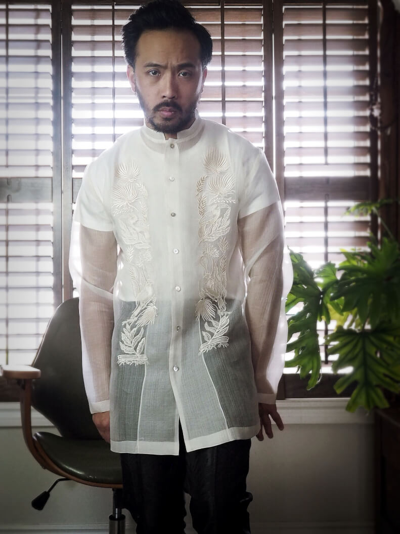 VINTA New Chinoy Barong Front View 2