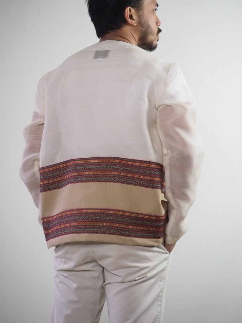 VINTA Paracelis Barong Jacket back view