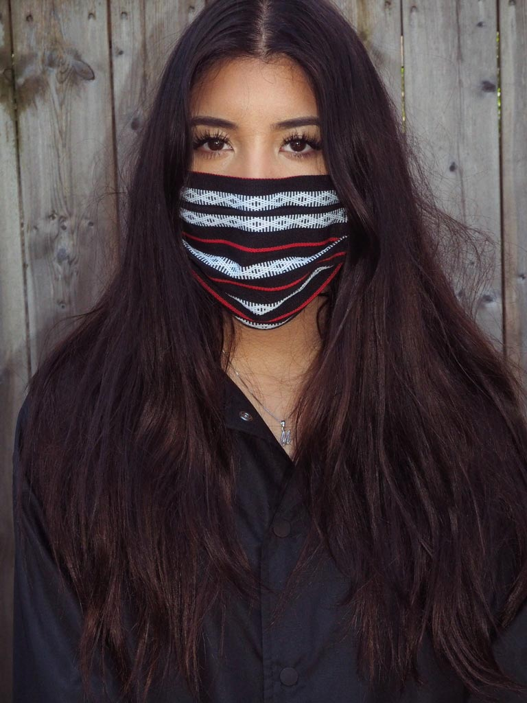 VINTA Handloomed Ifugao Face Mask in Black