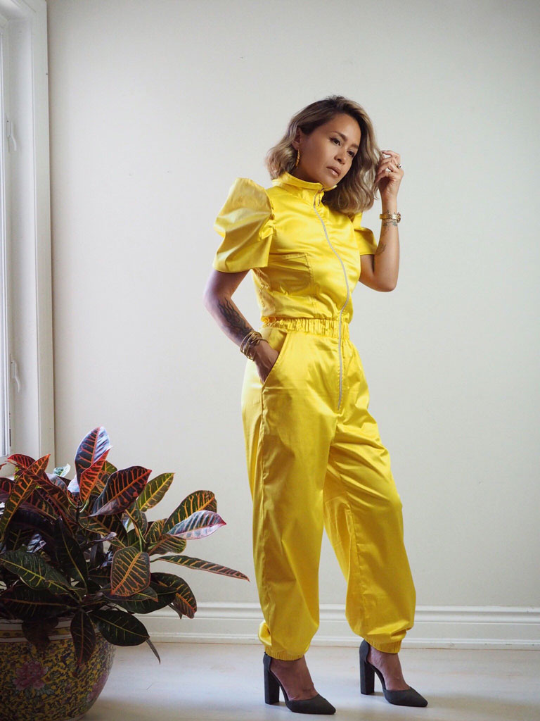 VINTA Terno Jumpsuit Dos in Yellow