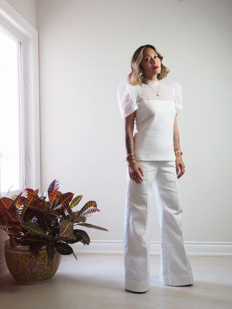 VINTA Terno Set - White Top