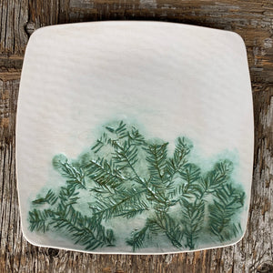 Northern Sask Square Dinner Plate