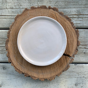 Farmhouse White Plate
