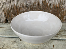 Load image into Gallery viewer, Farmhouse White Bowl