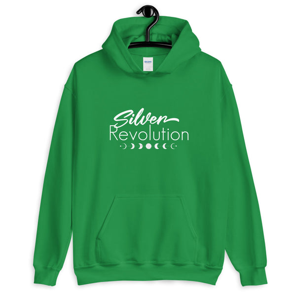 Silver Revolution Unisex Hoodie for Sassy Silver Sisters