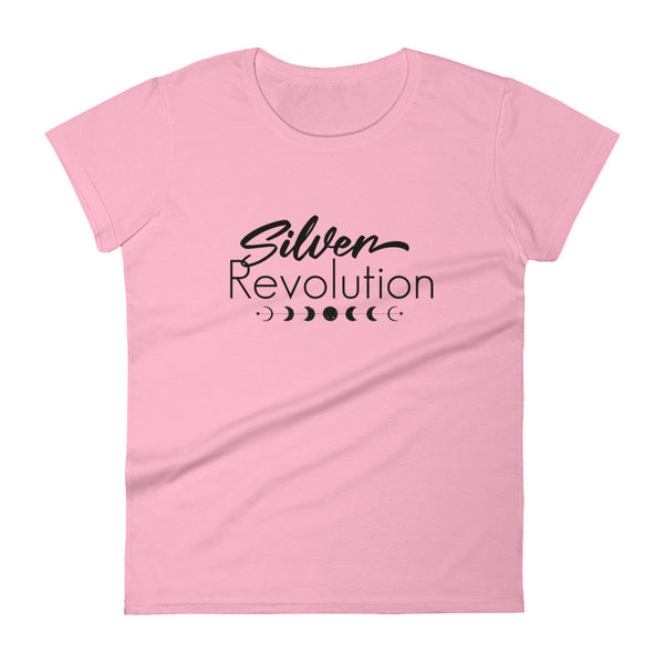 Women's Cut Silver Revolution Short Sleeve T-Shirt