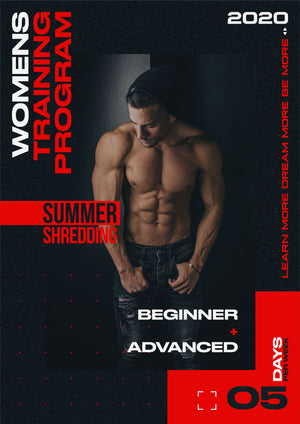Womens 5-Day Beginner/Advanced Training Program