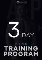 Mens 3-Day Training Program