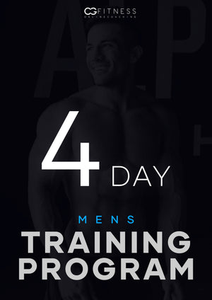 Mens 4-Day Training Program