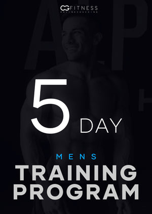 Mens 5-Day Training Program