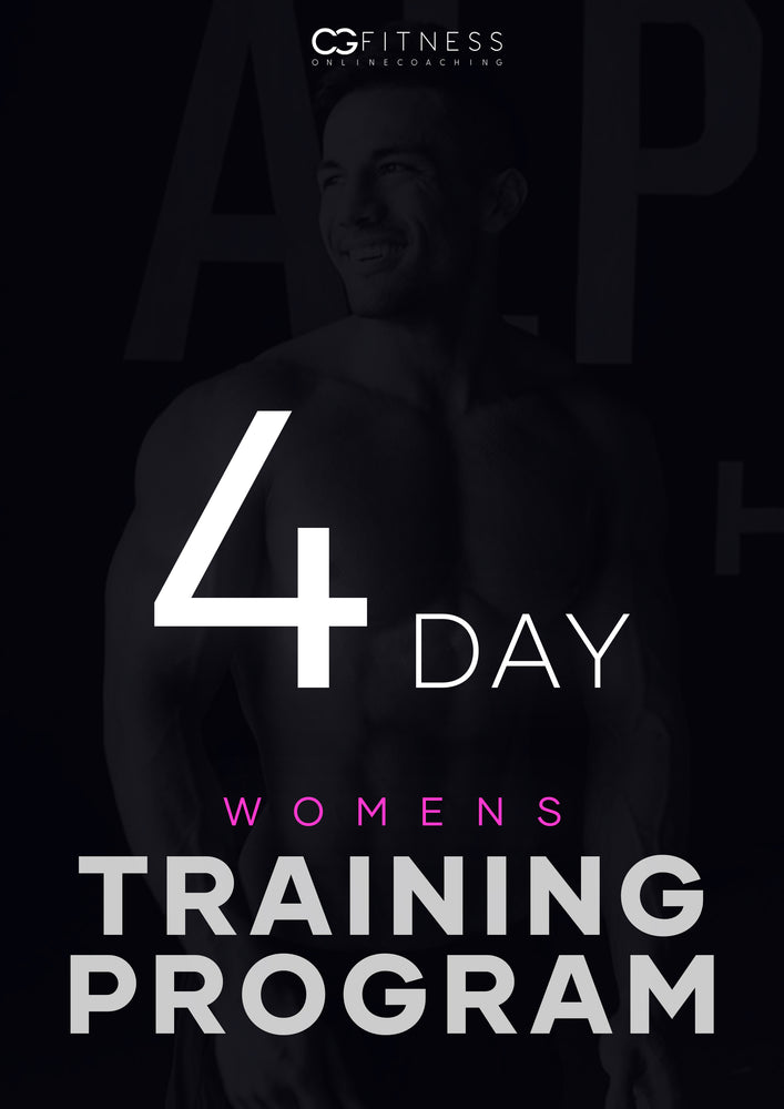 Womens 4-Day Training Program