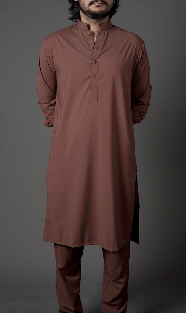 Caramel Brown - Sherwani (Men) - Manto