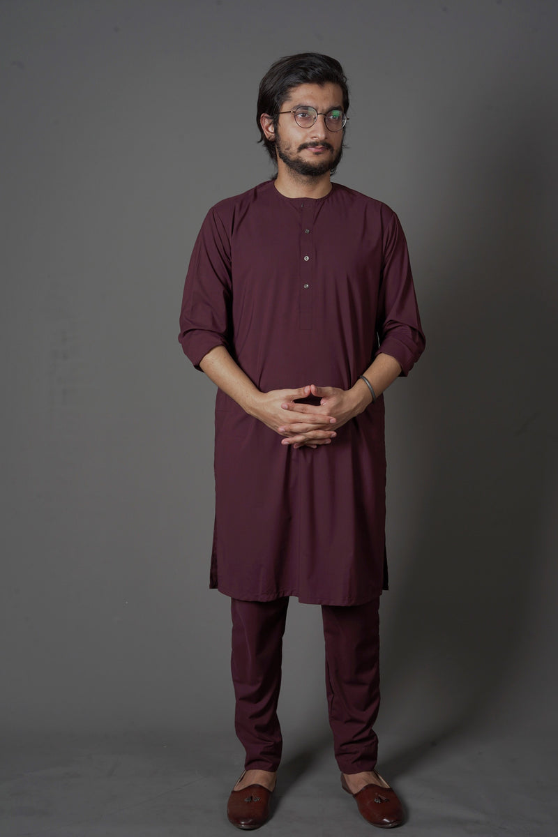 Wine Red - Lucknow (Men)