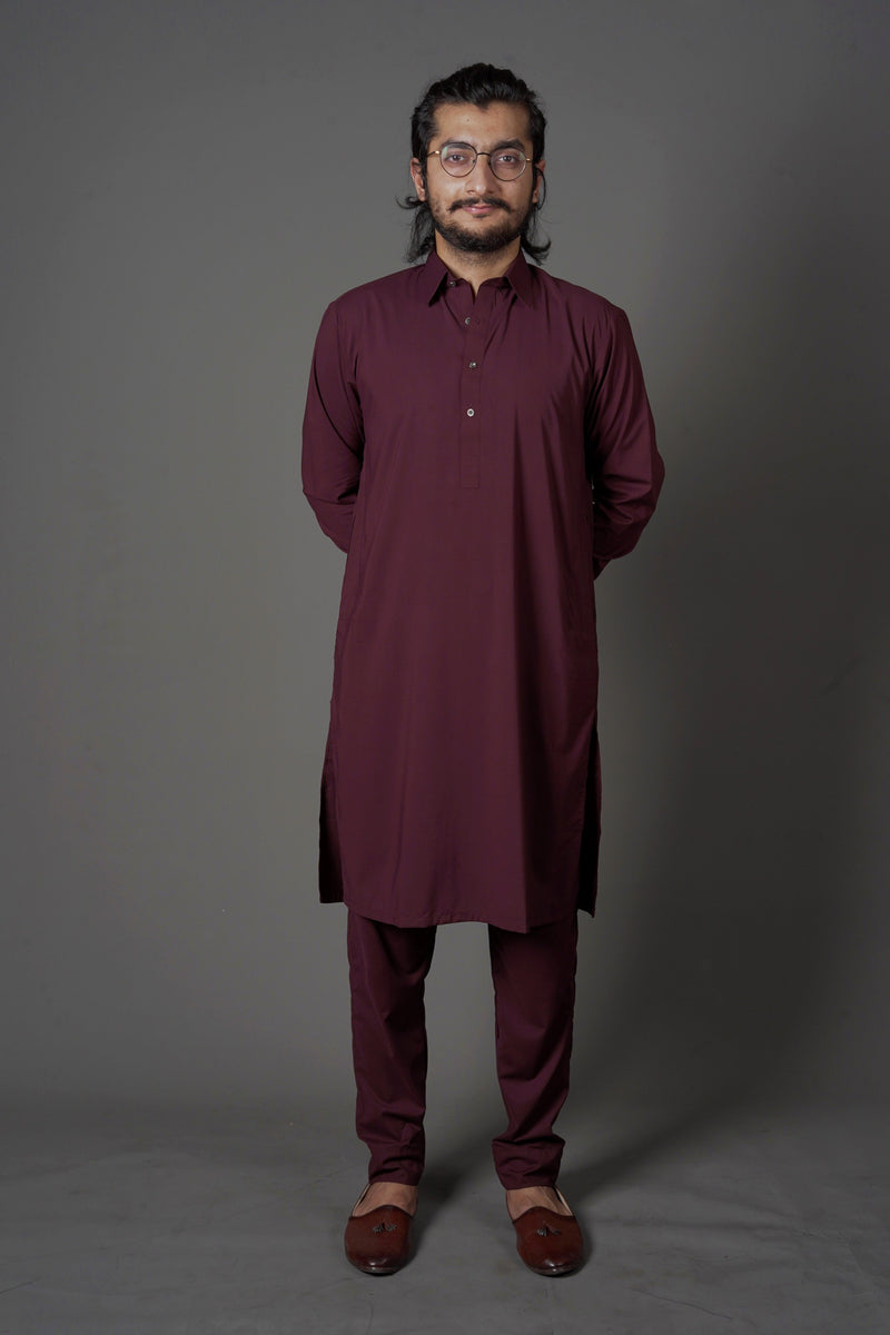 Wine Red - Peshawar (Men)