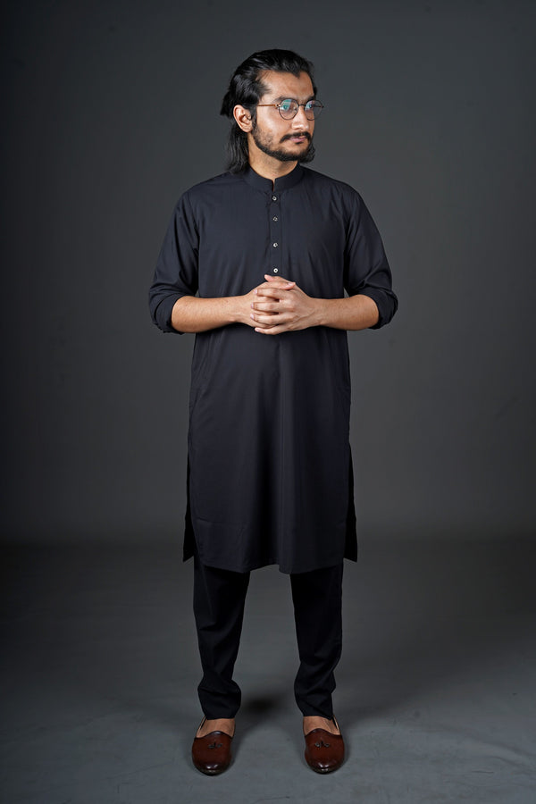Jet Black - Sherwani (Men)