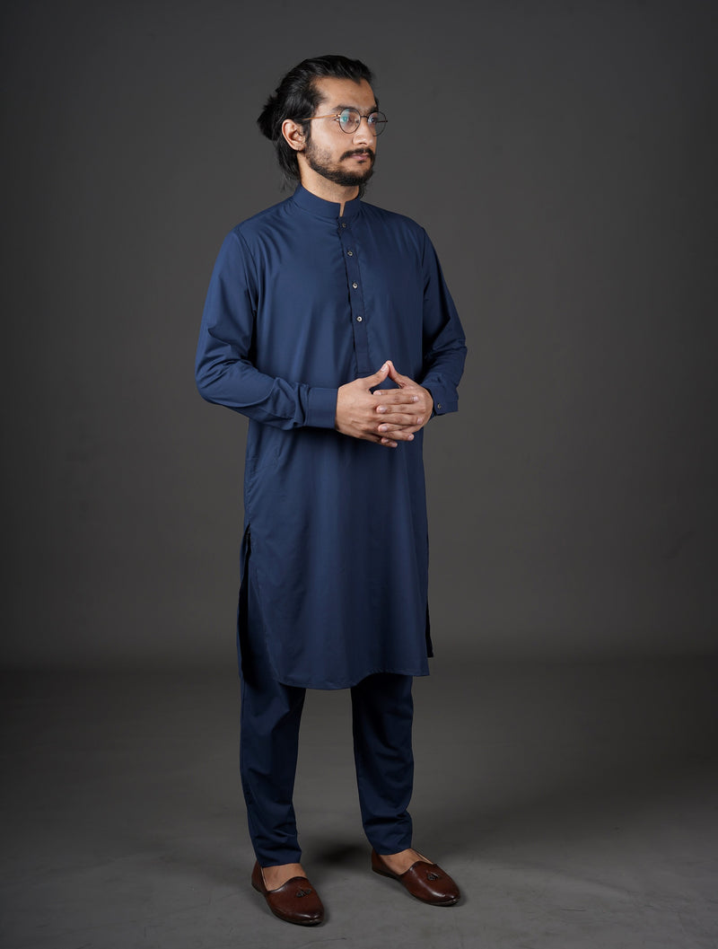 Midnight Blue - Sherwani (Men)