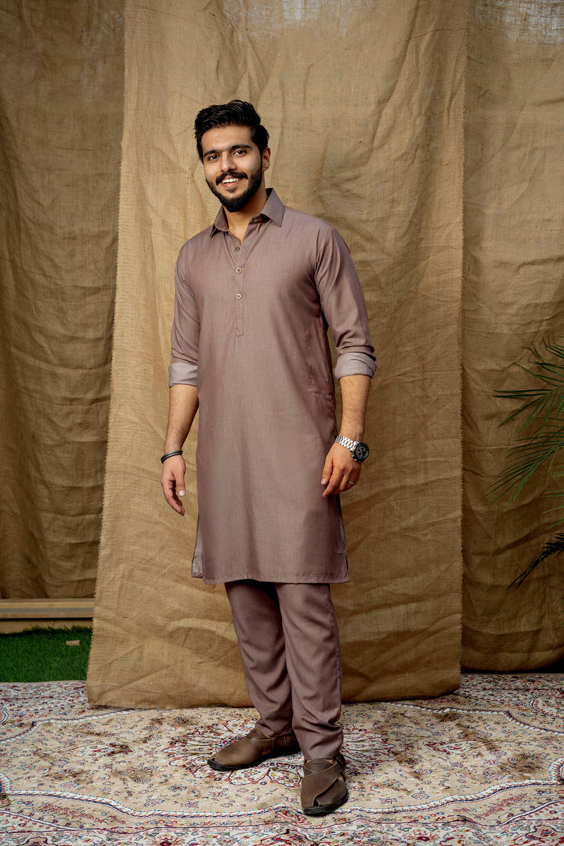 Rustic Peach Peshawar (Men)