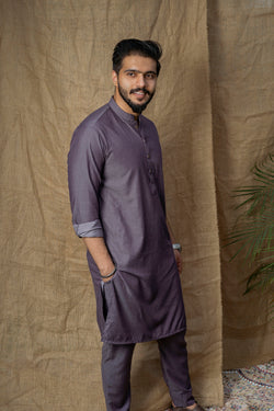 Dark Lilac Sherwani (Men)