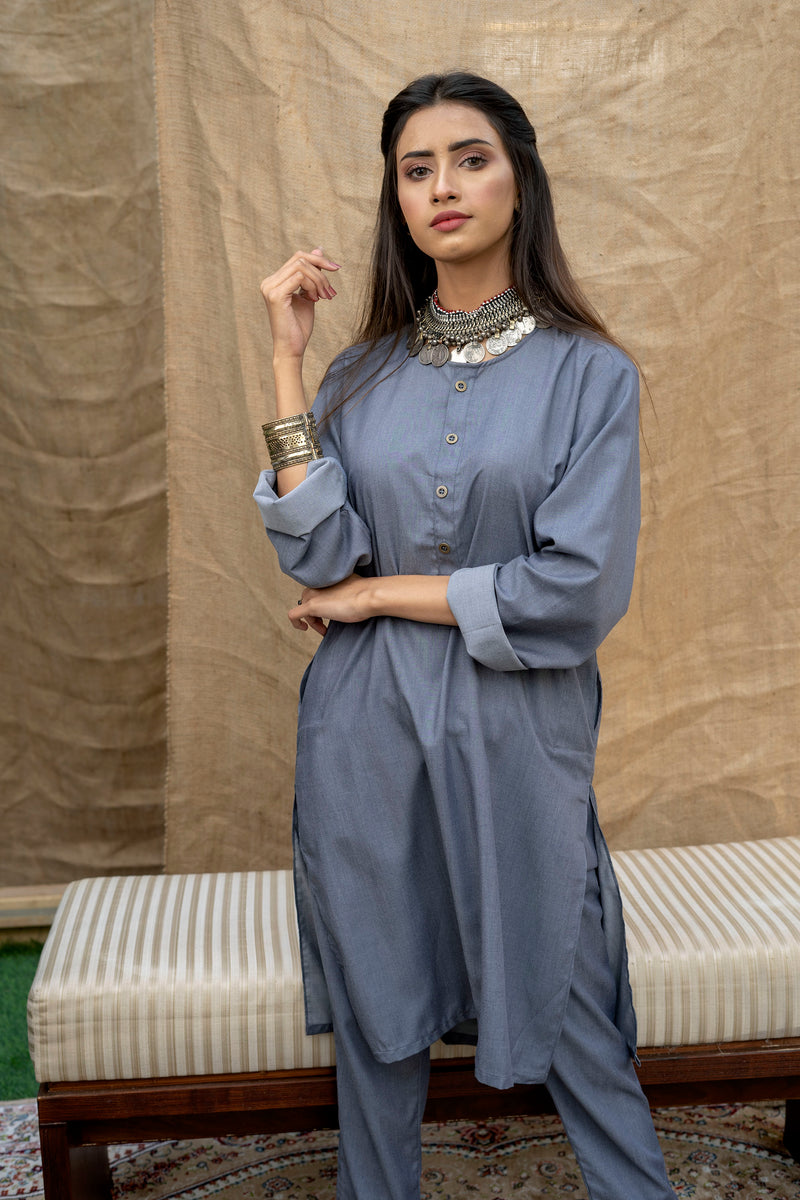 Ash Grey Lucknow (Women)
