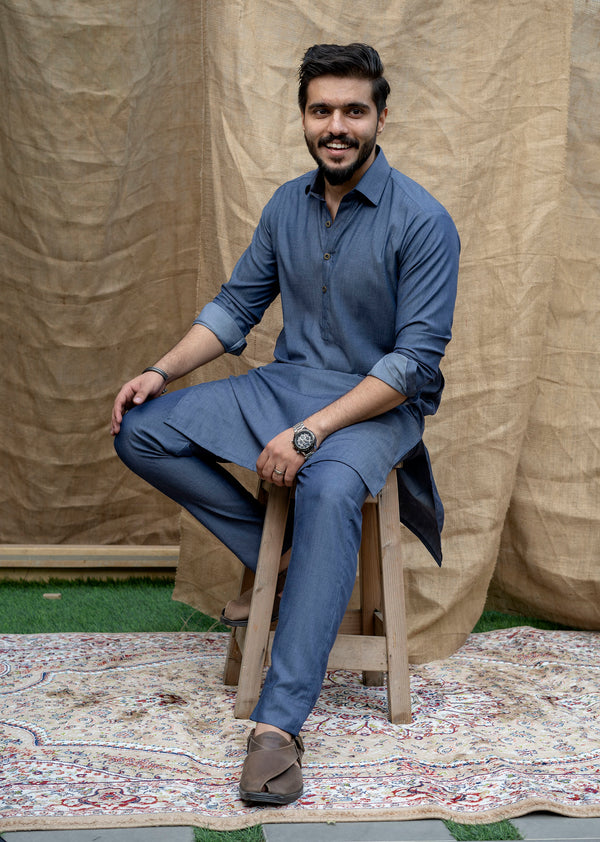 Denim Blue Peshawar (Men)