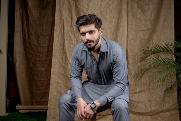 Ash Grey Peshawar (Men)
