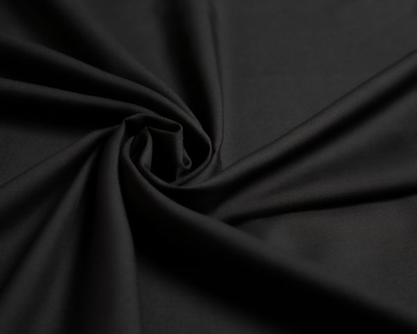 Jet Black, premium quality and comfortable unstitched (5m) Manto fabric with breeze technology