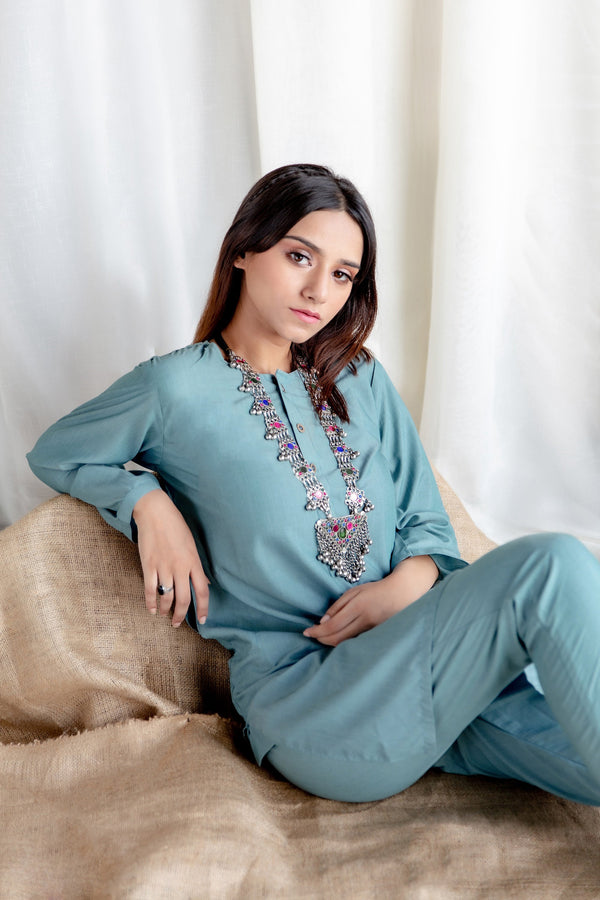 Crystal Turquoise - Lucknow (Women) - Manto