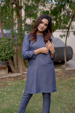 Denim Blue Lucknow (Women)